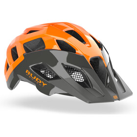 Rudy Project Crossway Helmet lead/orange fluo shiny